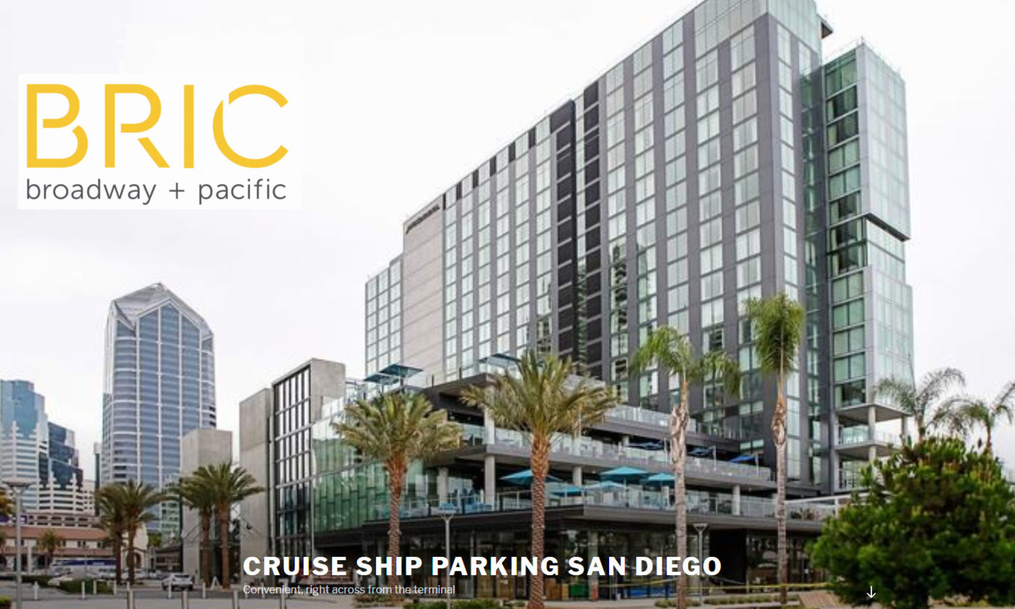 Cruise Ship Parking San Diego